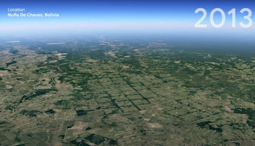 Think climate change is a hoax? Don't watch this Google Earth timelapse
