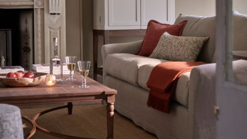 Breegan Jane's coffee table tip is a gamechanger for small living rooms