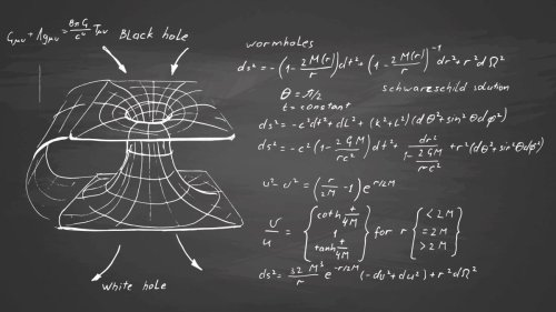 Strange mathematical term changes our entire view of black holes