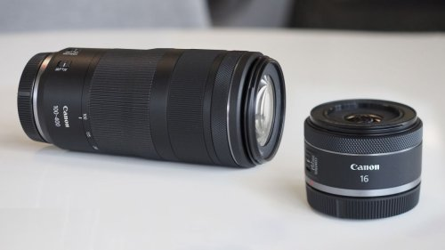 Canon's new lenses have started shipping! Get the RF 16mm and 100-400mm now