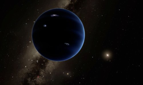 What if Planet Nine is a baby black hole?