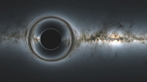 Space telescopes spot light 'echoing' from behind black hole for the first time