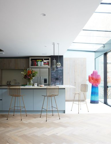 Explore this cool Victorian mews house with a pared-back Scandi feel