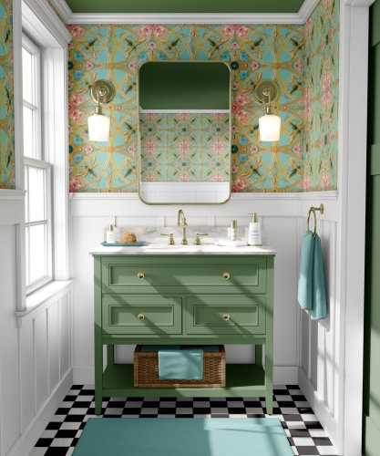 5 ways to add colour to your bathroom design
