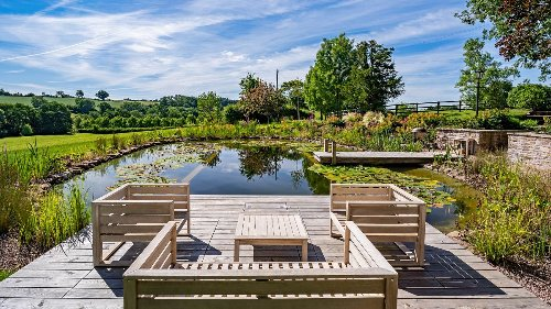 Natural pools: 10 stunning designs and ideas for backyard swimming ponds