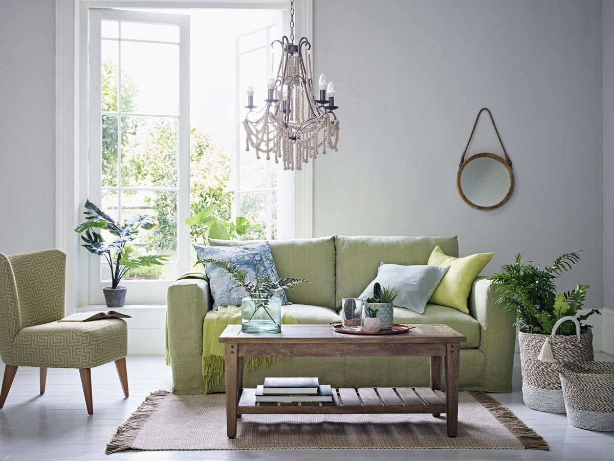 We have found a new love: green sofas