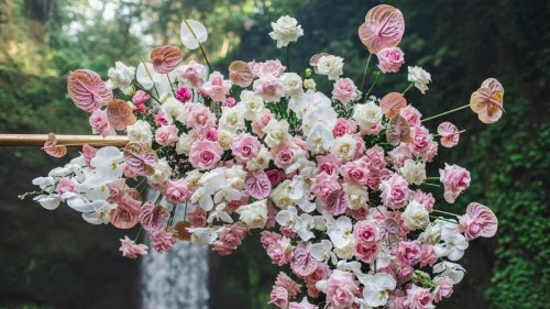 14 blooming backdrops for decorating special occasions