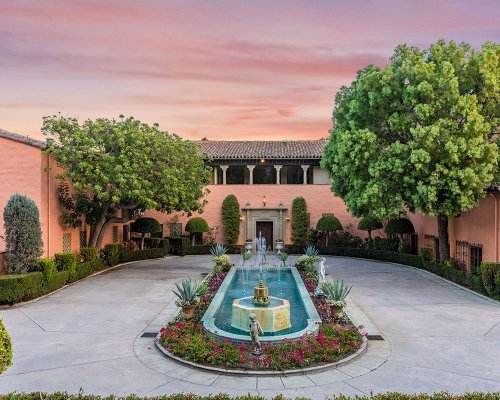 See inside the historical LA house that featured in 'The Godfather'