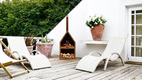 10 stylish ways to heat up your patio all year round