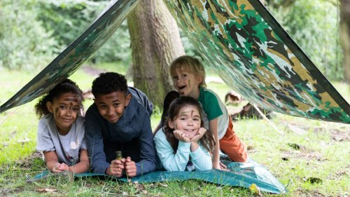 31 fun-filled ways to keep children entertained outdoors