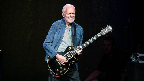 Peter Frampton on the Joy of Guitar Playing, Developing His Style, and Recording With George Harrison