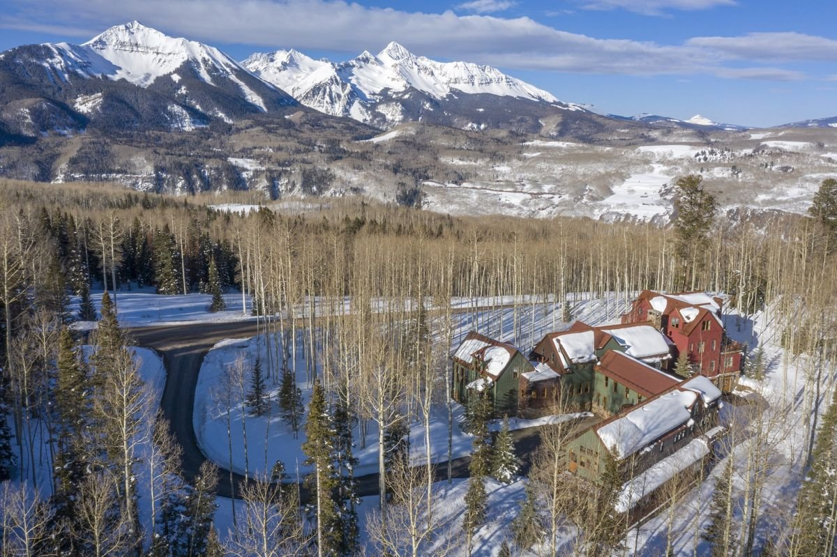 See inside Jerry Seinfeld's sprawling Telluride holiday home
