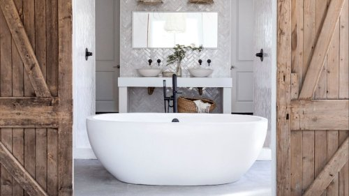Farmhouse bathroom ideas – 26 ways to combine rustic with chic