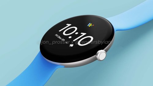 Google Pixel Watch just leaked — first look at Apple Watch 7 rival