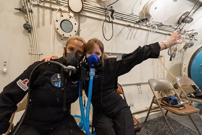 Inspiration4 crew planning ultrasounds, microbe samples and more to understand health during flight