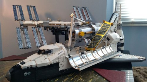 Lego's NASA Space Shuttle Discovery set with Hubble is a space geek's dream (review)