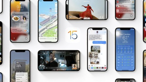 What time will iOS 15 land on your iPhone?