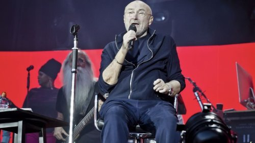 """Phil Collins offers health update ahead of Genesis reunion tour: """"I can barely hold a stick"""""""