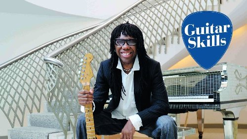 Learn 5 Nile Rodgers funk guitar chords with our rhythm lesson