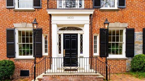 Inside JFK's elegant red-brick townhouse in Georgetown, Washington DC
