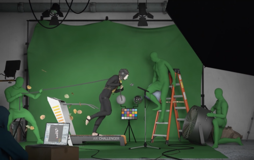 Here's a mesmerizing montage of 3D artists all using the same animation