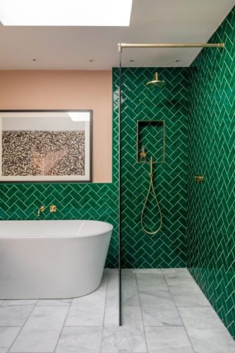 These are some of the best ideas for bathroom walls