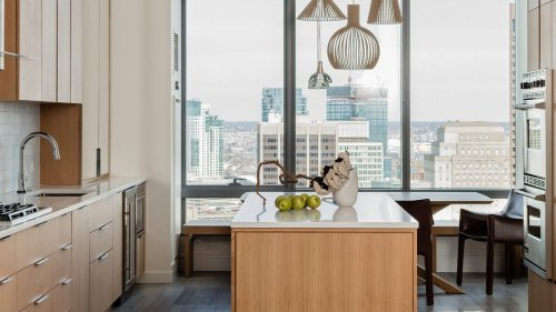 Before & After: a retro apartment is unrecognisable after a chic, modern makeover