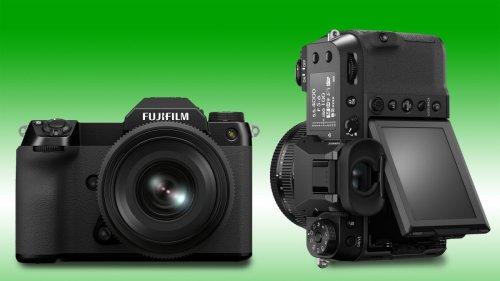 Fujifilm GFX50S II vs GFX100S