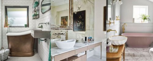 Decor and design solutions for tiny washrooms
