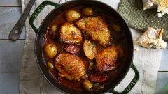 Discover chicken stew