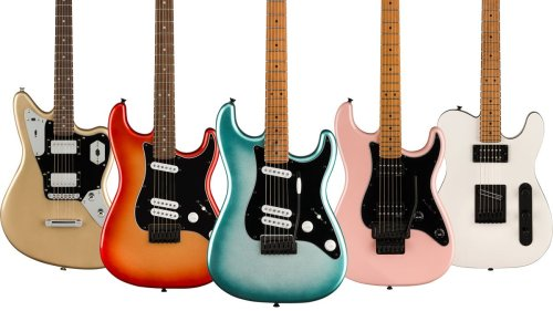 Fender releases eye-popping, high-spec Squier Contemporary Series