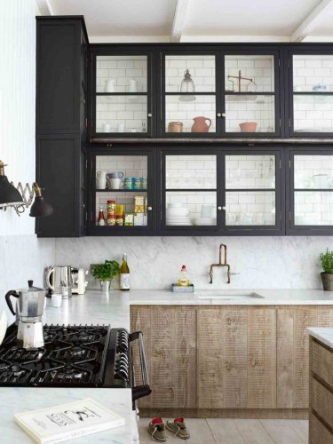 We love these cool kitchen tile ideas