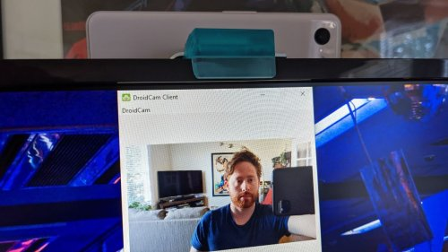 My old smartphone now makes for a killer webcam