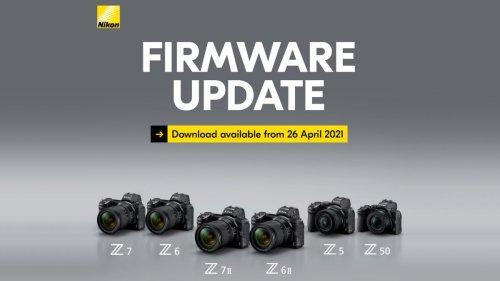 Nikon's drops fresh firmware updates for its whole Z camera range