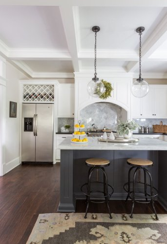 This 1920s bungalow was given a bright & neutral makeover
