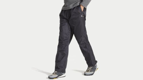 Craghoppers Ascent Overtrousers review: decent quality, easy-to-pack, emergency waterproof trousers