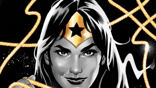 Wonder Woman: Black and Gold celebrates her 80th anniversary in two colors