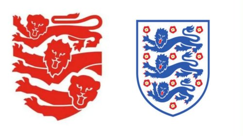 England's Three Lions logo gets a controversial makeover (but there's a big misunderstanding)