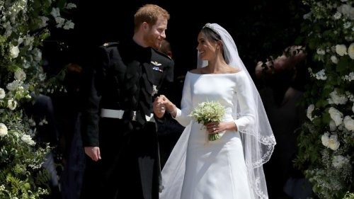 Where did Meghan Markle get her wedding dress from and how much did it cost?