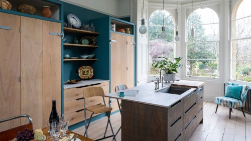 See this dream kitchen that's ship shape and fashionably blue
