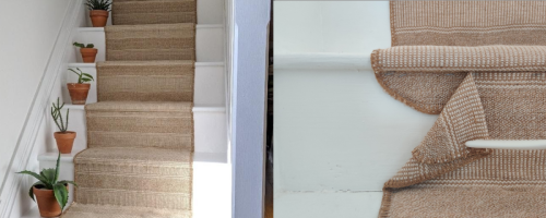 Use this Ikea doormat hack to make a stair runner for £20