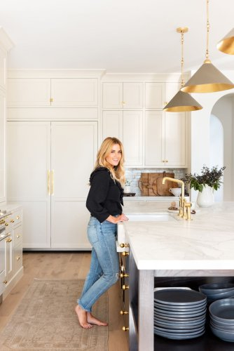 Shea Mcgee's top lighting design tip adds a wow moment to any room