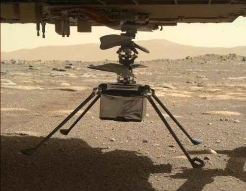 NASA delays Ingenuity Mars helicopter's first flight to April 11