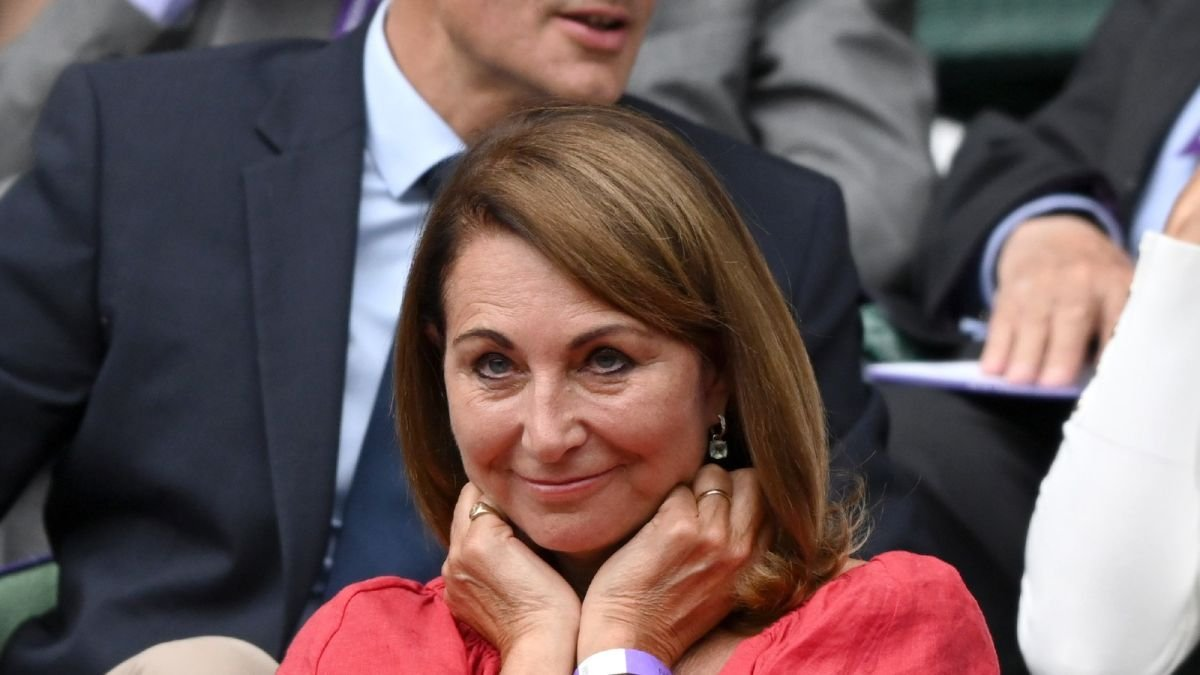 Carole Middleton's wedding dress gets 'second lease of life' at son James's private wedding