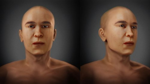 King Tut's father revealed in stunning facial reconstruction