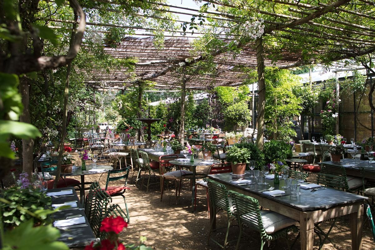 Restaurants in London with outdoor seating - the most stylish to book now for April 12
