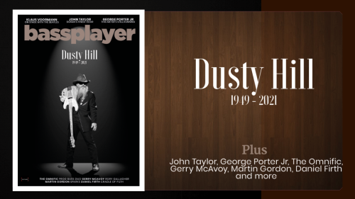 Bass Player's new issue pays tribute to Dusty Hill
