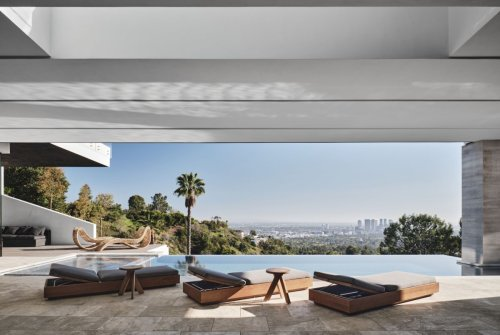 This staggering Beverly Hills home with a 20ft water wall is on the market for $65 million