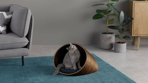 This luxury cat bed has 5-star reviews all round