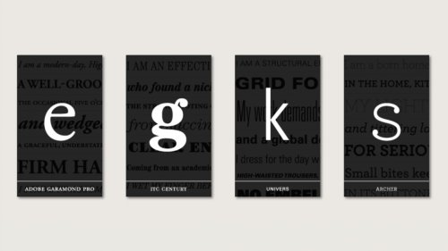 30 perfect font pairings